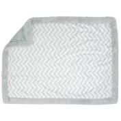 Koala Baby Blanket - Grey Chevron