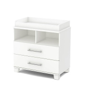 South Shore Cuddly Collection Changing Table - Pure White