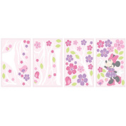 Disney Baby Minnie Mouse Love Blossoms Wall Decals
