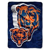 NFL 150cm  x 200cm  Micro Raschel Throw - Chicago Bears - by Northwest