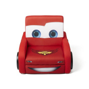 Disney Cars Shaped Deluxe Upholstered Toddler Chair