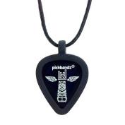 Pickbandz Necklace Silicone Pick Holder - Epic Black
