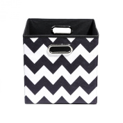 Modern Littles Bold Chevron Folding Storage Bin