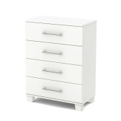South Shore Cuddly Collection 4-Drawer Chest - Pure White