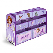 Disney Junior Sofia the First Deluxe 9 Bin Organiser
