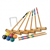 Franklin Sports Classic Series 6 Player Croquet Set