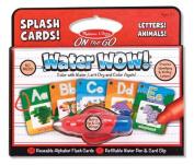 Water Wow! Splash Cards Alphabet