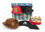 Top This! Role Play Hats - Brown/Black