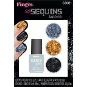Fing'rs Heart 2-Art Nail Kits - SO Sequins