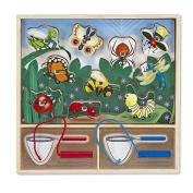Melissa & Doug Magnetic Game Puzzle - Bug Catching
