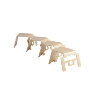 Bentwood Stool - Linking - 4pk