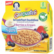 Gerber Graduates Breakfast Buddies Berries & Cream Hot Cereal with Fruit & Yoghurt