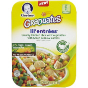Gerber® Graduates® Lil' Entrees® Creamy Chicken & Vegetable Stew with Green Beans & Carrots