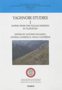Yaghnobi Studies: Volume 1