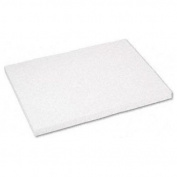 Pacon Corporation Tagboard, Heavyweight, 46cm x 60cm , 100 Sh/Pack, White