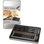Royal & Langnickel Small Tin Life Drawing Art Set