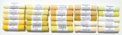 Mount Vision Pastel Company 25-Piece Yellow Set