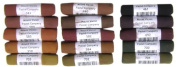 Mount Vision Pastel Company 15-Piece Dark Earth Set