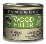 FAMOWOOD Original Wood Filler - Cedar - 1/4 Pint Net Wt 180ml