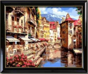 Diy oil painting, paint by number kit- Florence amorous feelings 16*50cm .