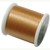 Japanese Nylon Beading Thread by KO for Delica Beads GOLD 42765