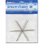 8 Beadsmith Snowflake Ornament Wires Beading Holiday
