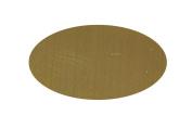 RMP Stamping Blanks, 2.2cm X 3.5cm Oval, 260 Brass