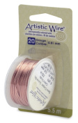 Artistic Wire 20-Gauge Bare Copper Wire, 6-Yards