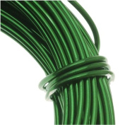 Aluminium Craft Wire Kelly Green 18 Gauge 39 Feet