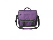 Martin Just Stow-it Ultimate Messenger Bag for the Arts, Purple