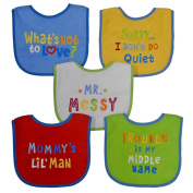 Neat Solutions Attitude Bib Set, 5 Count