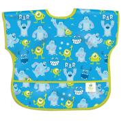 Bumkins Disney Baby Waterproof Junior Bib, Monsters Inc. Blue