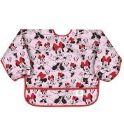 Bumkins Disney Baby Waterproof Sleeved Bib, Minnie Classic, 6-24 Months