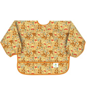 Bumkins Disney Baby Waterproof Sleeved Bib, Winnie The Pooh Woods