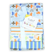 Cudlie! 4-Pack Receiving Blankets