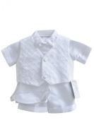 Classykidzshop White Boy Baptism Outfit B5