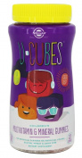 Solgar - U-Cubes Children's Multi-Vitamin & Mineral Gummies Grape, Orange, & Cherry - 120 Gummies