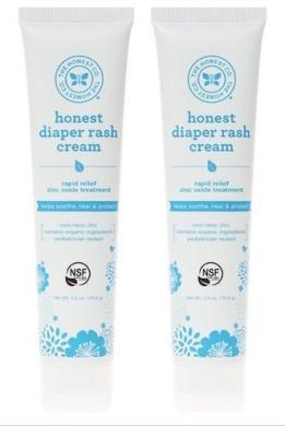 Honest Company Nappy Rash Cream - 2 PACK