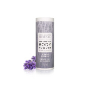 Ora's Amazing Herbal Body Powder 70ml Synthetic Talc and Grain Free, Blissful Earth Scent