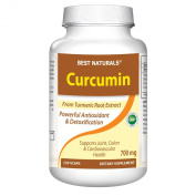 Best Naturals High Potency Curcumin Extract 700 Mg with 95% Curcuminoids, 120 Capsules