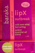 Natural Cold Sore Treatment - LipX Outbreak - Cold Sore treatment relief fast acting - Potent Essential oil Blend tea tree, hyssop, Melissa, eucalyptus, citriodora, palmarosa, lavadin.