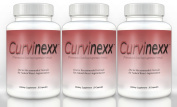 CURVINEXX Breast Augmentation Formula (3 Bottles) - Lift, Firm and Enhance your Bust Naturally. Natural Breast Toning and Enlarging Pills