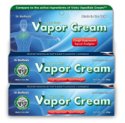 Dr. Sheffield's Greaseless Vapour Cream Cough Suppressant Topical Analgesic 2 PACK