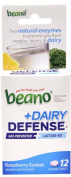 Beano Plus Dairy Defence Gas Preventer and Lactose Aid, 12 Count