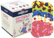 Ortopad Elite Girls Eye Patches - Patterns with Glitter Accents, Regular Size