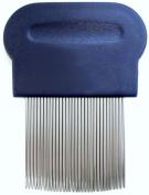 Schooltime Lice & Nit Comb-- Metal Comb with Ergonomic Handle