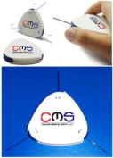 CMS 3-In-One Weinstein Filament Diabetic Neuropathy Foot Test Rotating Wheel 4.17(1g) 5.07(10g) 6.10(75g) Retractable Monofilament