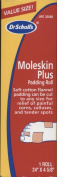 Dr. Scholl's Moleskin Plus Roll Padding, 60cm x 12cm 1 ea