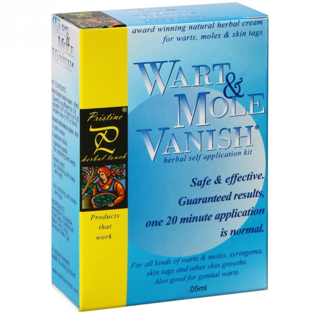 Wart Mole Vanish, Award Winning, All Natural, Guaranteed, Wart, Mole, Skin  Tag Removal Product  ONE 20 minute application! Removes 2-5 Large growths