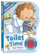 Toilet Time for Boys Sound Book (Ready to Go!) [Board book]
